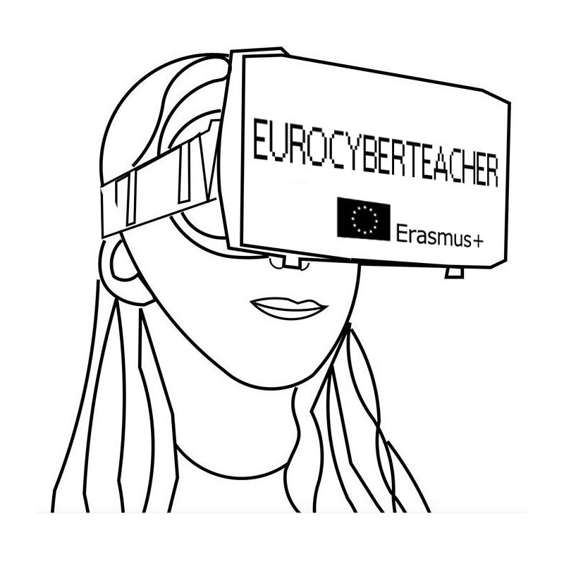 logo EUROCYBERTEACHER projektu ERASMUS+